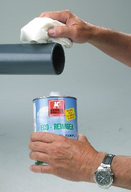 PVC-U plastikinių vamzdžių montavimo saugumo priemonės